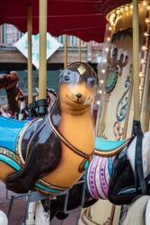 Sea Lion Carousel Ride
