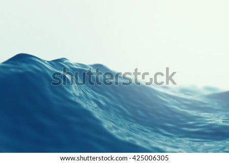 sea  ocean wave close up with...