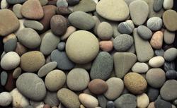 Sea pebble / sea stones   background