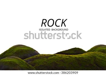 Sea rock. Ocean rock. Beach rock. Nature rock. Moss grow on rock. Big rock isolated. Lichen on rock. Rock on beach. Green rock. Abstract rock isolated. Environment and rock. Plant grow on rock. Stone
