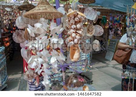 Sea shells handmade ornament handmade. Ayvalik was taken on the island of Cunda. #1461647582