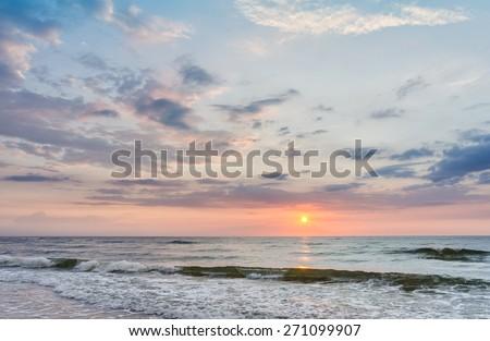 Sea Sunset #271099907