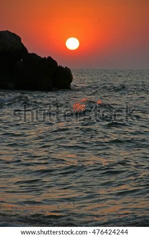 sea sunset #476424244