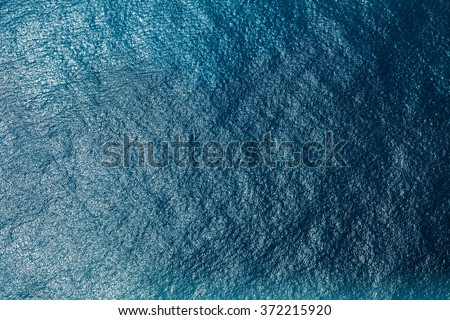 Sea surface aerial view #372215920
