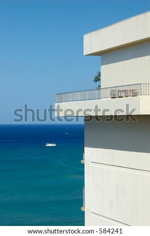 sea view apartment overlooking Waikiki