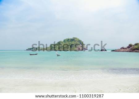Sea view from the beach Bo Thonglang Beach Thailand #1100319287