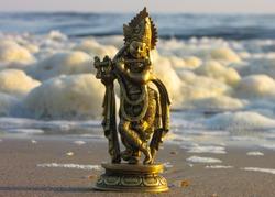 Sea View Murti Krishan Bhagwan Hindu Religious