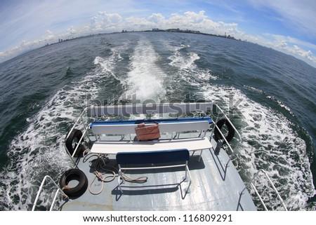sea view of koh larn pattaya,Thailand