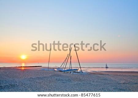 Sea View. Paradise Beach. Gorgeous Beach in Summertime.