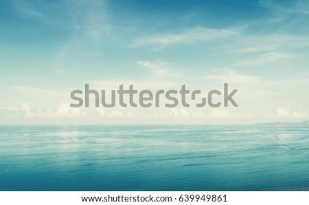 sea, vintage style #639949861