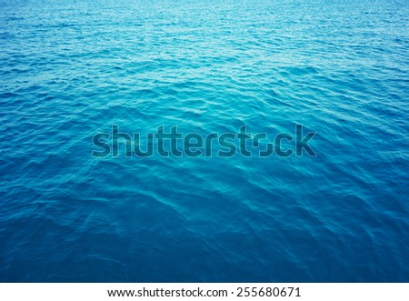 sea water background #255680671