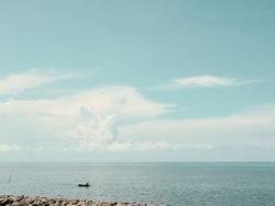 sea water background blue blacksea landscape cloude natural day sun view ocean