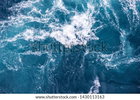sea water splash texture - blue transparent fresh ocean water background #1430113163