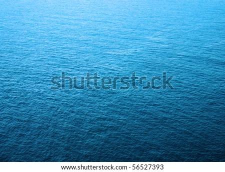 Sea water - texture, blue aqua