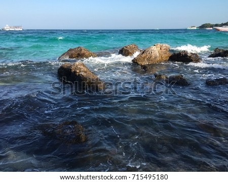 sea wave #715495180