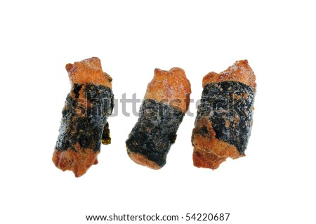 Sea Weed Chicken Nuggets Stock Photo 54220687 : Shutterstock