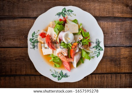Seafood Salad Seafood Salad Seafood Salad