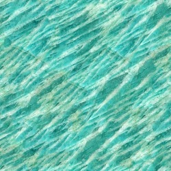 Seamless abstract background. Polished slice of the mineral amazonite. Amazing natural patterns and textures of slice of minerals for background.