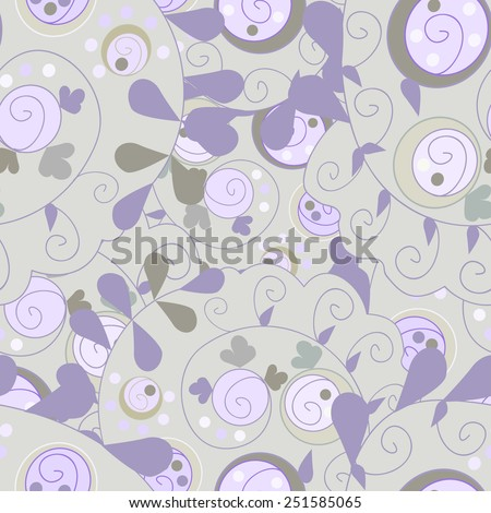 Seamless abstract hand-drawn ornament pattern, wavy background. Seamless pattern can be used for wallpaper, pattern fills, web page background,surface textures. Gorgeous raster