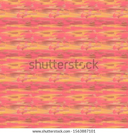 seamless abstract pink and yellow vivid paint strokes pattern tile for textile, fabric, backdrops, backdrops, covers, and creative surface designs.