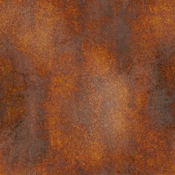 Seamless and Rusty vintage metal background texture iron old rust grunge steel metallic dirty brown wall
