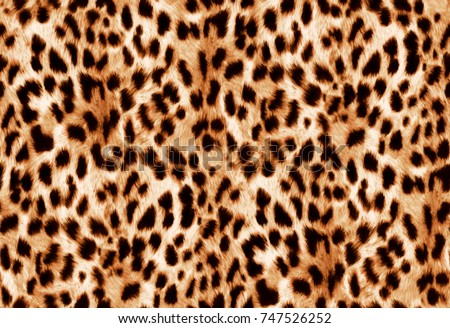Seamless animal print Beautiful watercolor spotted skin pattern on black background