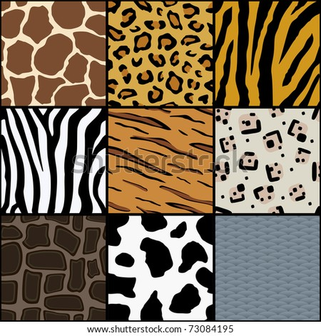 Seamless Animal Texture