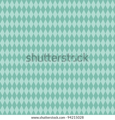 Seamless Aqua Diamond Background