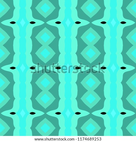 Seamless background pattern with a variety of multicolored lines. #1174689253