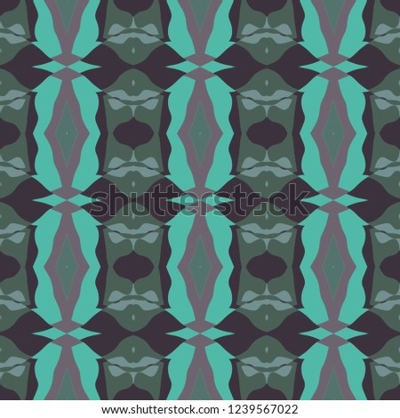 Seamless background pattern with a variety of multicolored lines. #1239567022
