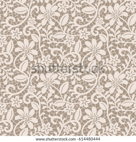 seamless beige lace background...