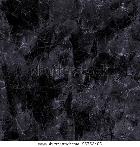 Stock Photo seamless black marble texture