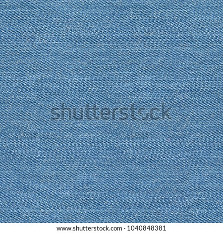 Seamless blue denim texture. Repeating pattern