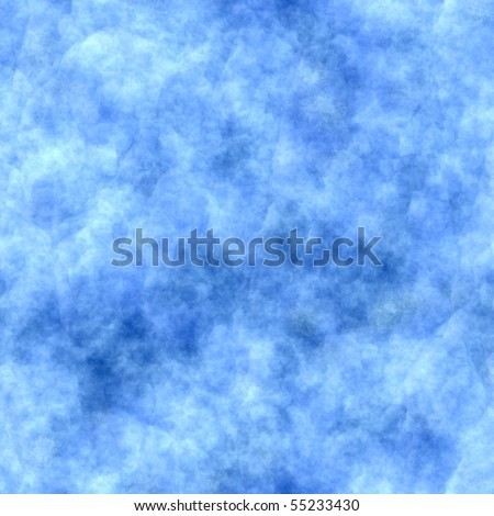 Seamless Blue Sky Painted Abstract Background