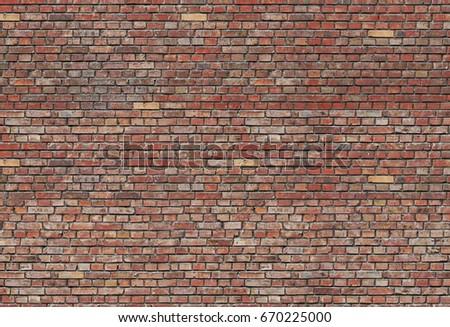Seamless bricks texture. Background brick. Wall texture