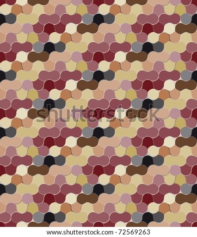 Seamless bulb pattern with multicolor elements. Vector version is in my portfolio