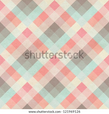 seamless checked fabric pattern ...