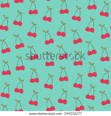 Cute Cherries Background Cute Cherries Background