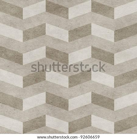 Seamless chevron old paper texture