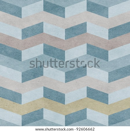 Seamless chevron old paper texture