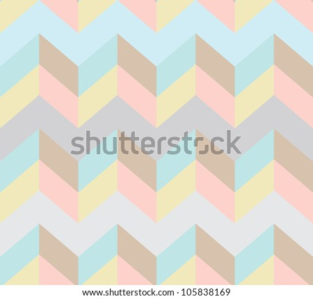 Seamless chevron pattern, beautiful illustration