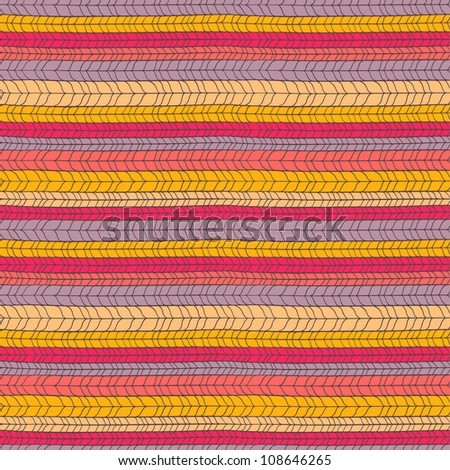 Seamless colorful knitted texture
