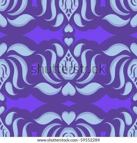 Flower Wallpaper on Seamless Continuous Wallpaper Tile  Lotus Flower Design Created In