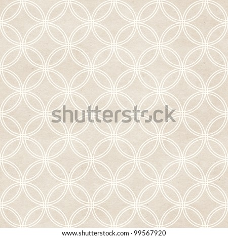 Seamless delicate geometric pattern. Paper textured background.