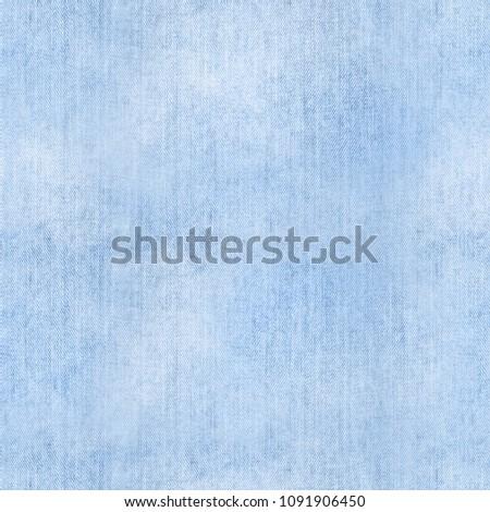 Seamless denim texture. Light blue. Jeans.