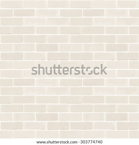 Seamless design vintage style light sepia cream tone brick wall detailed pattern textured  background: Seamless retro grungy brickwork masonry detail square backdrop in beige creme color