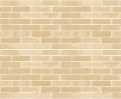 Seamless design vintage style yellow beige cream tone brick wall detailed pattern textured background