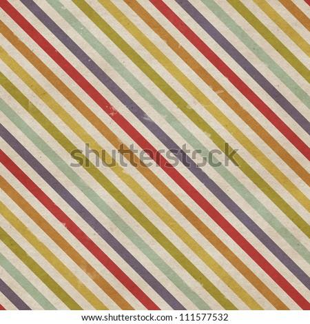 Seamless diagonal strokes pattern on paper texture