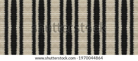 Seamless Ethnic Ornament. Wicker Embroidery Brown Print. Mayan Ethnic Embroidery. Delicate Rhombus Knitted. Wicker Indian Mouline. Rug macrame Rustic Old Texture. Photo stock ©