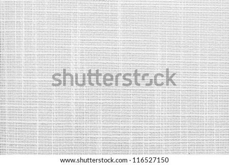 Seamless fabric canvas background - stock photo